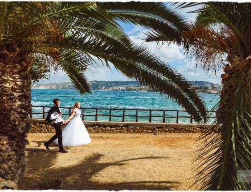Zagraniczne sesje ślubne w Grecji / Kreta