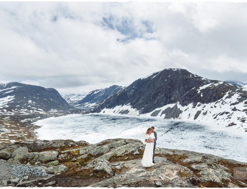 Sesja ślubna w Norwegii – Loen